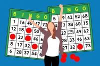 grille bingo silhouette femme